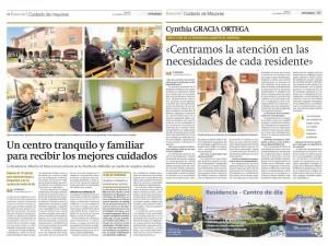 El Moreral en el Periodico de Aragon 280314