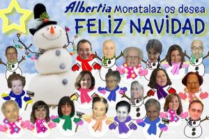 FELICITACIÓN ALBERTIA MORATALAZ