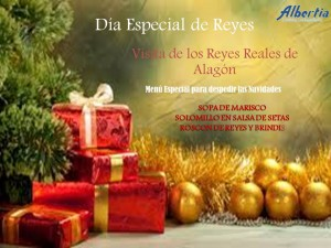 Menu de Reyes