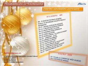 Programación Navidad