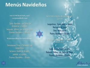 menú de Navidad 14-15