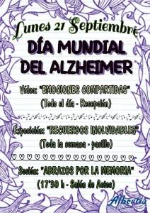 Cartel - Día Mundial Alzheimer 2015 peq