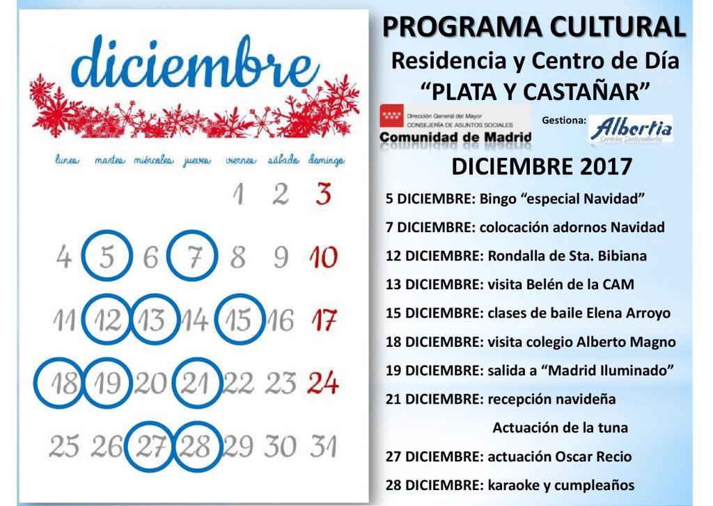 navidad residencia albertia PlatayCastañarCalendario2017.diciembre