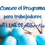Programa Wellness albertia servicios sociosanitarios residencias mayores