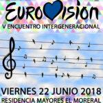 Encuentro Intergeneracional Eurovision residencia mayores albertia el moreral zaragoza