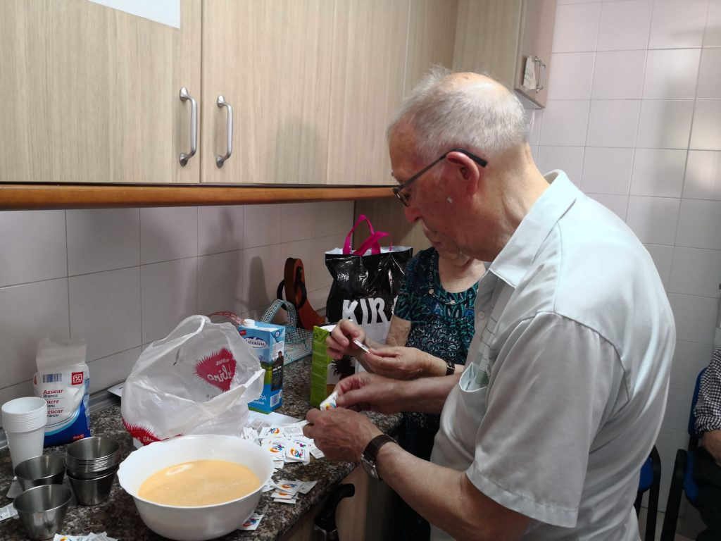taller de cocina residencia mayores albertia puertollano