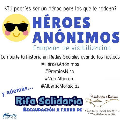 campaña heroes anonimos albertia moratalaz premios nico residencia mayores apartamentos centro de dia