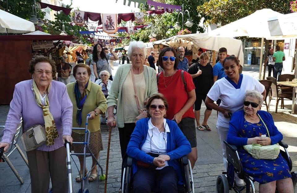 albertia valle de la oliva residencias de mayores majadahonda fiestas