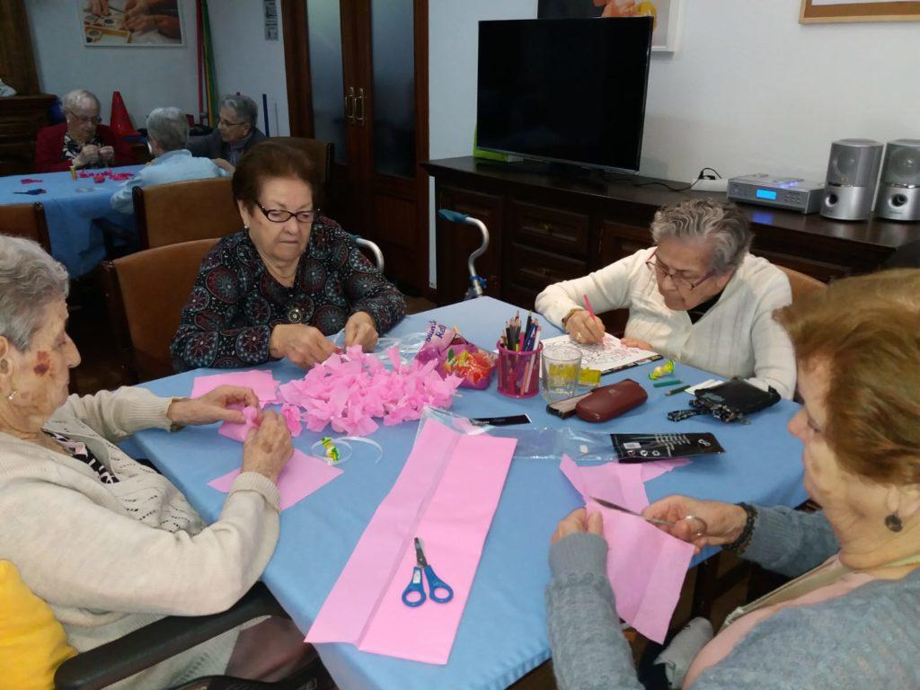 dia mundial cancer de mama residencia mayores albertia las palmeras