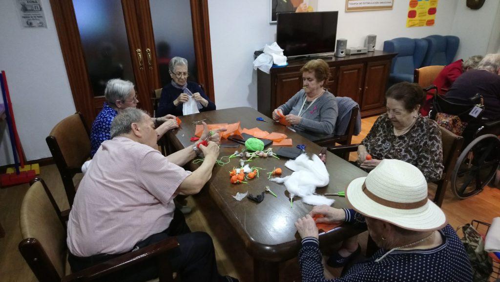 halloween mayores residencia azuqueca de henares albertia las palmeras