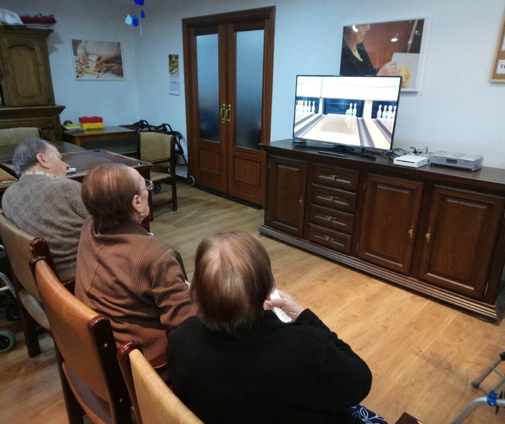 wiiterapia residencia mayores albertia las palmeras azuqueca de henares guadalajara