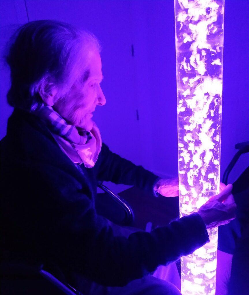 estimulacion sensorial snoezelen residencia de mayores albertia puertollano
