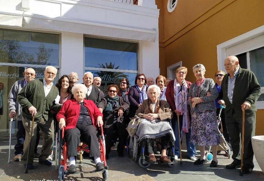 Actividades de la Vida Diaria residencia para mayores albertia puertollano