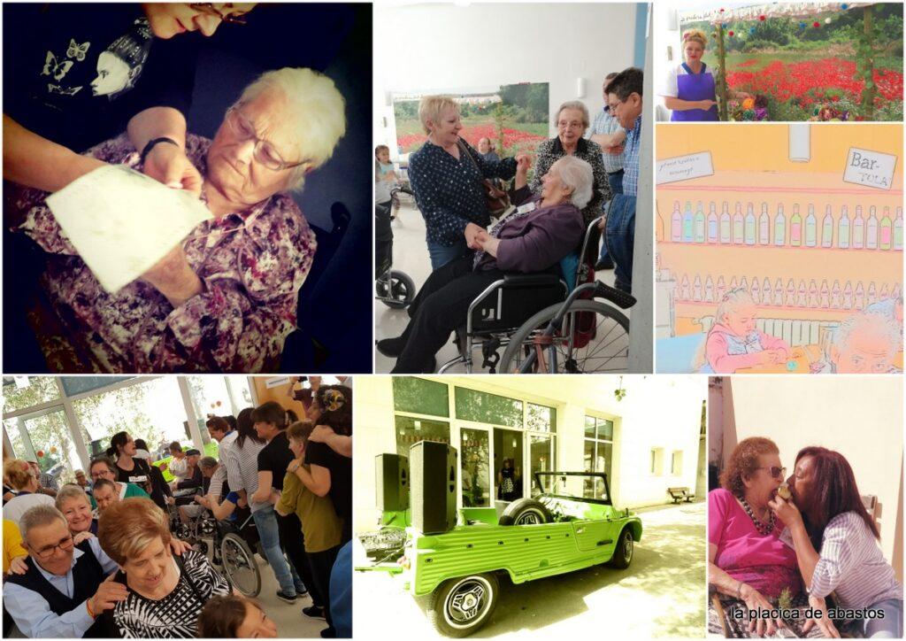 encuentro intergeneracional alagon residencia mayores albertia