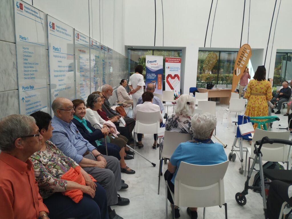 dia internacional de las personas mayores hospital puerta de hierro