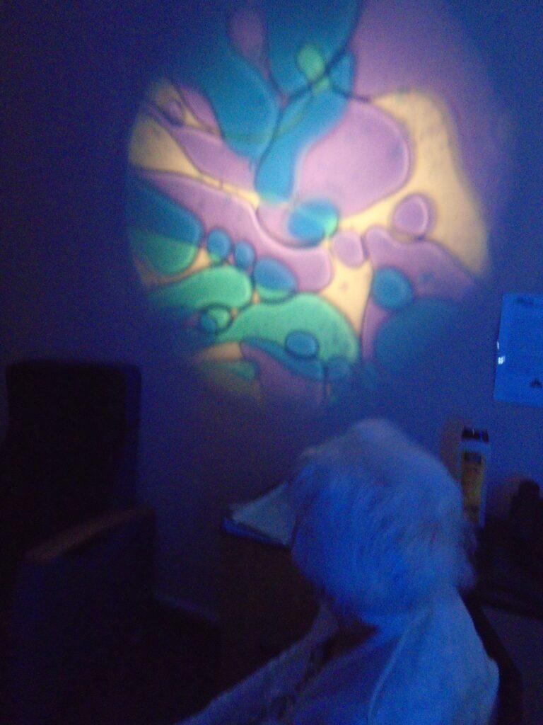 sala multisensorial tubo burbujas albertia las huertas barbastro
