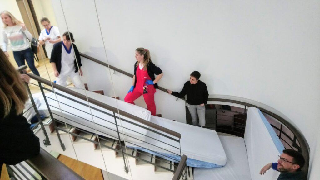 simulacro emergencias residencia mayores albertia azuqueca