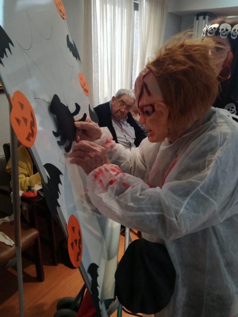 halloween residencia de mayores albertia las palmeras azuqueca