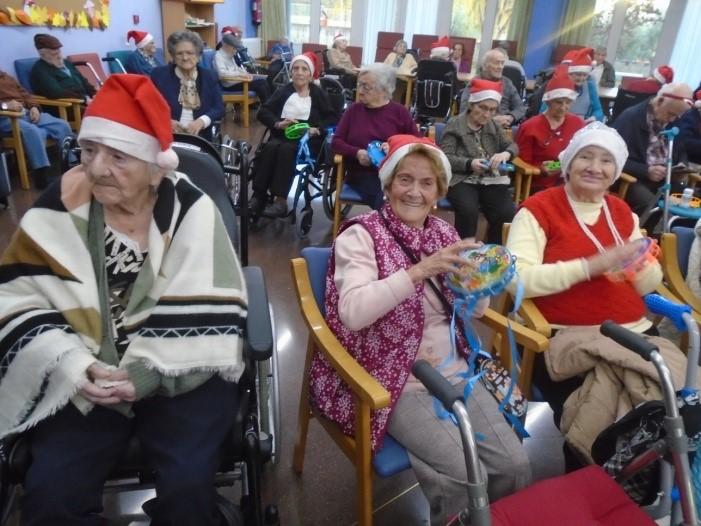 villancicos residencia navidad mayores albertia