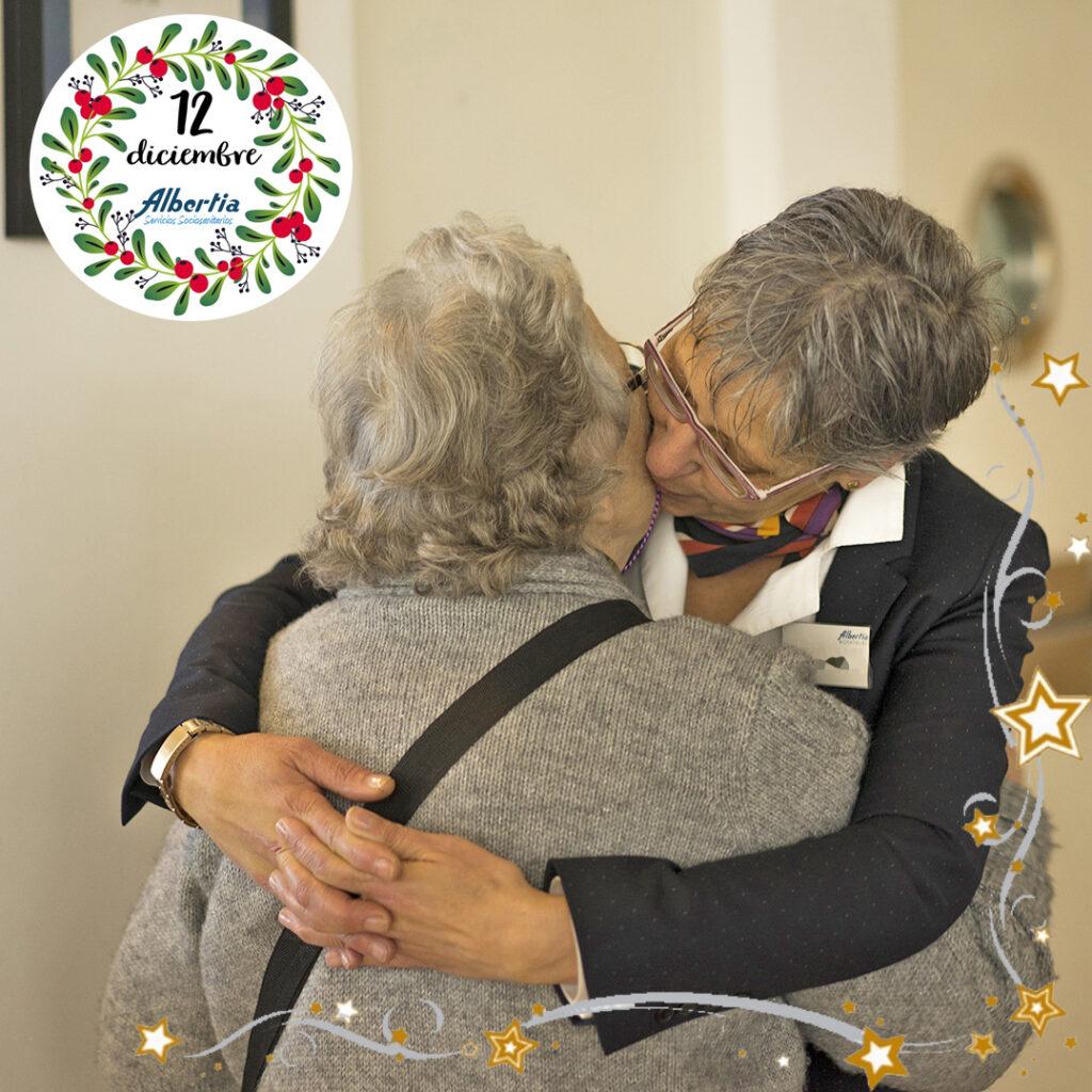 calendario adviento residencias personas mayores albertia