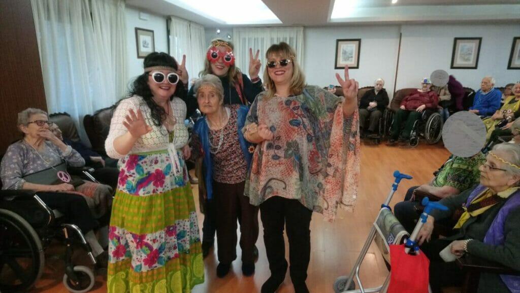 carnaval residencia personas mayores albertia
