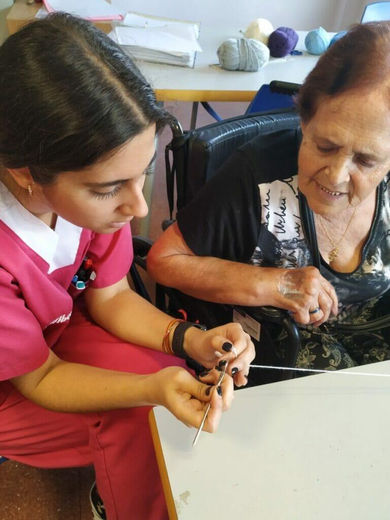 laborterapia residencias tercera edad albertia madrid