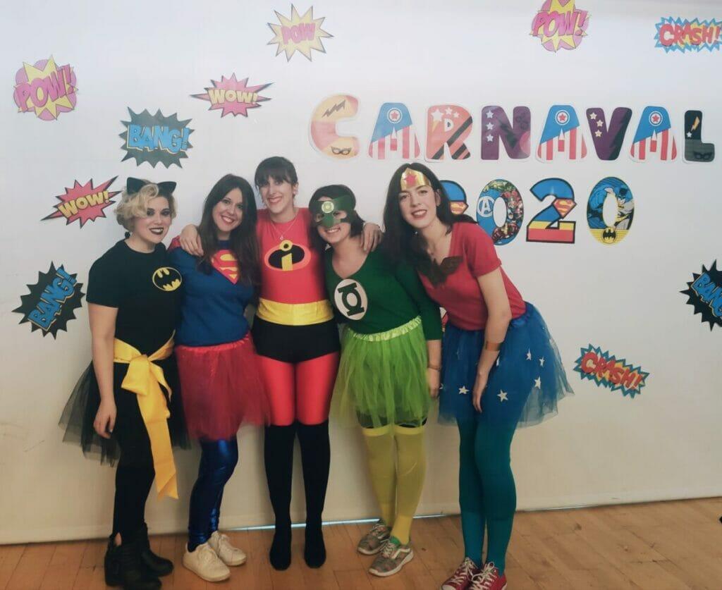 carnaval heroes residencia mayores