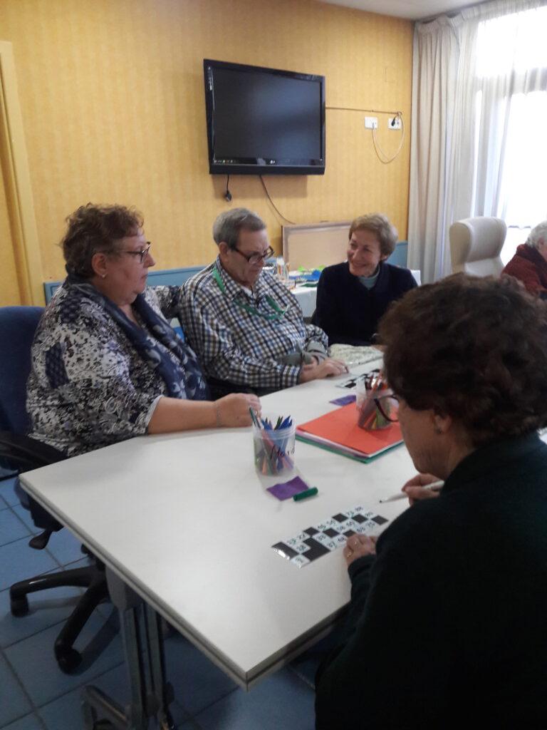 bingo familiar residencia personas mayores madrid