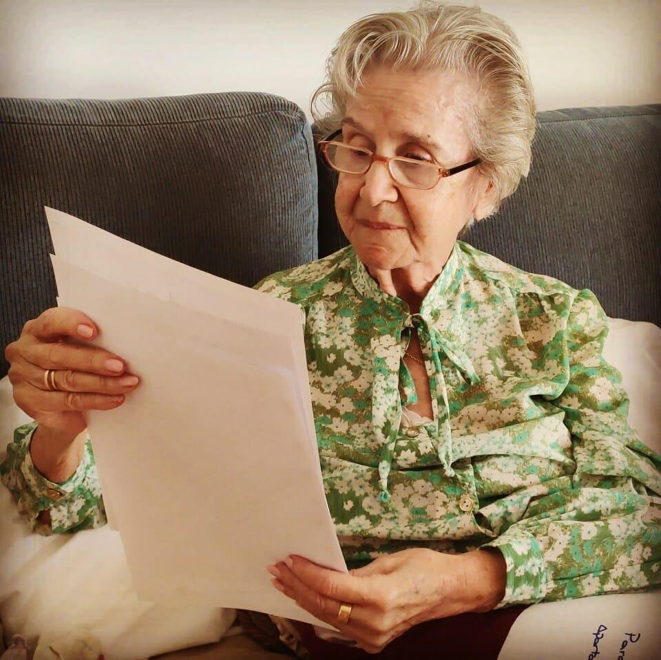 cartas solidarias residencia mayores albertia moratalaz