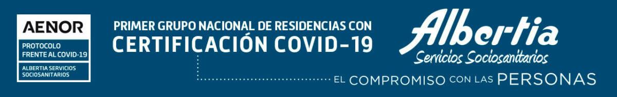Certificado Aenor Covid Albertia