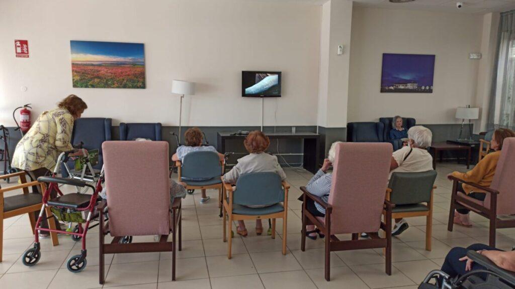 residencia mayores cine verano albertia majdahonda