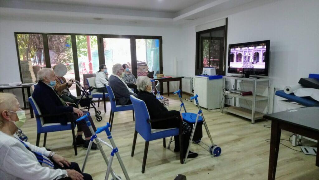 tardes de cine albertia las palmeras residencia mayores azuqueca