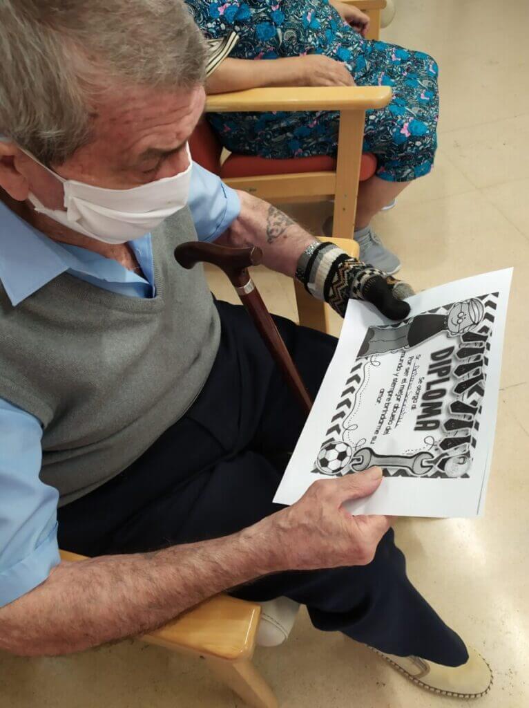 dia del abuelo residencia mayores